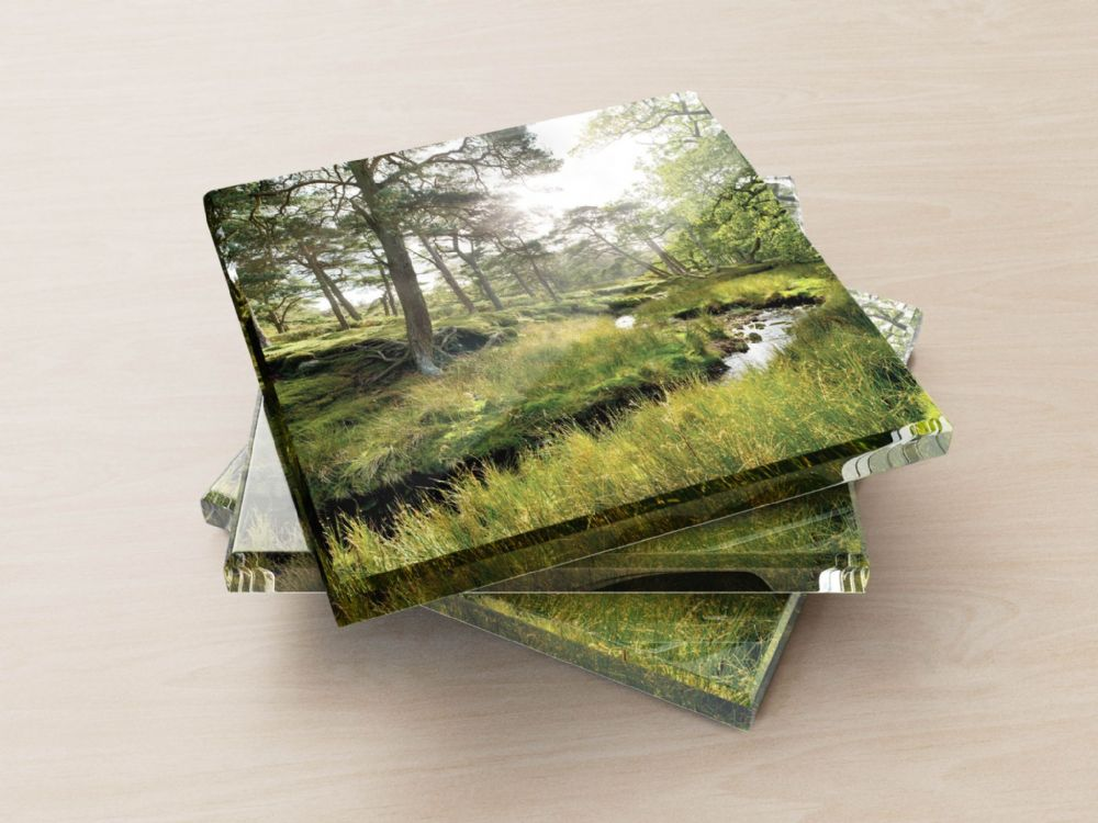 Marshaw Wyre, Trough of Bowland - Glass Coasters